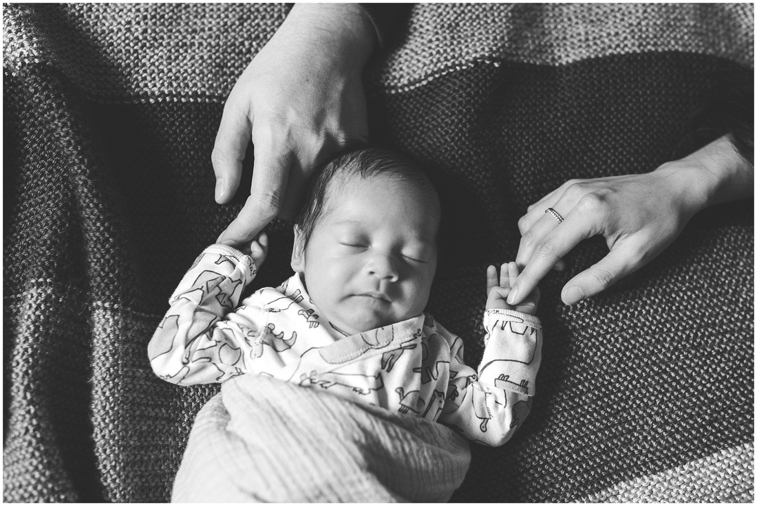 Bay Area Newborn Lifestyle Session
